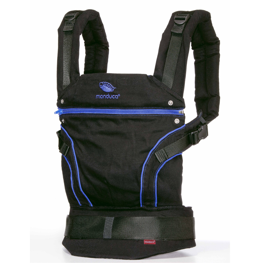Manduca-Babytrage-Bauchtrage-Carrier-Newstyle-BlackLine-PureCotton-Limited